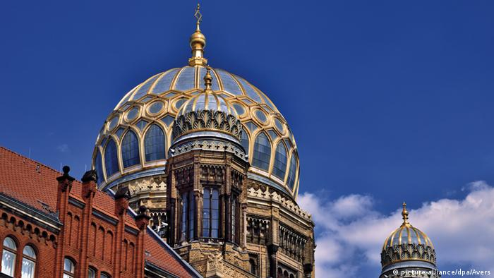 Neue Synagoge in Berlin, Germany (picture-alliance/dpa/Avers)