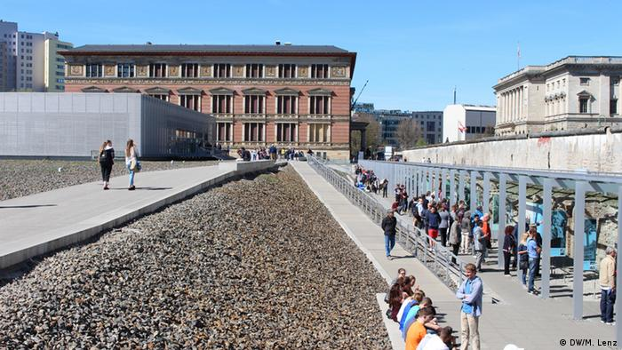 The exhibition trench at Berlin's Topography of Terror (DW/M. Lenz)