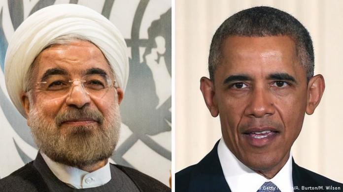 Hassan Rohani und Barack Obama (Bildcombo) (Getty Images/A. Burton/M. Wilson)