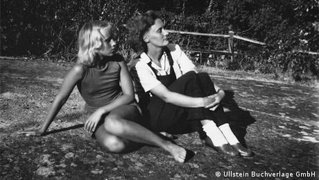 Astrid Lindgren mit Karin