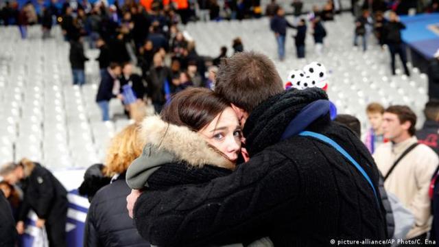 На стадионе Стад де Франс 13 ноября