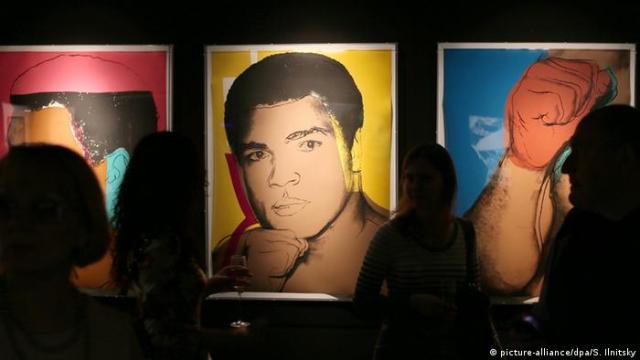 Russland, Ausstellung Mohammad Ali