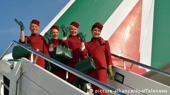 Aεροσυνοδοί Alitalia