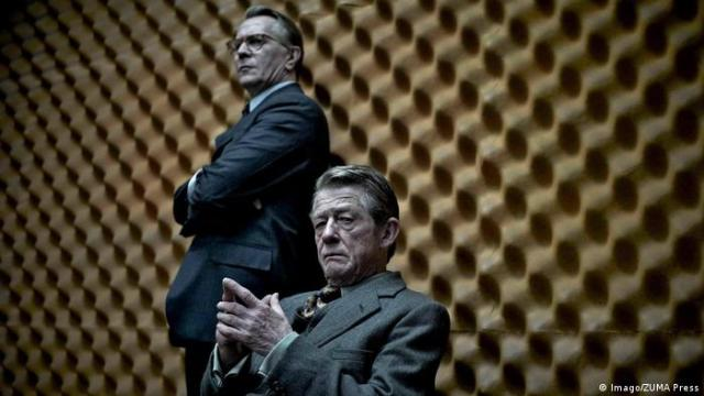 Gary Oldman appears in a still shot from the movie Tinker Trailor Soldier Spy based on the novel by John Le Carre (Imago/ZUMA Press)