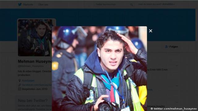 photo of a blogger from Azerbaijan Mehman Huseynov