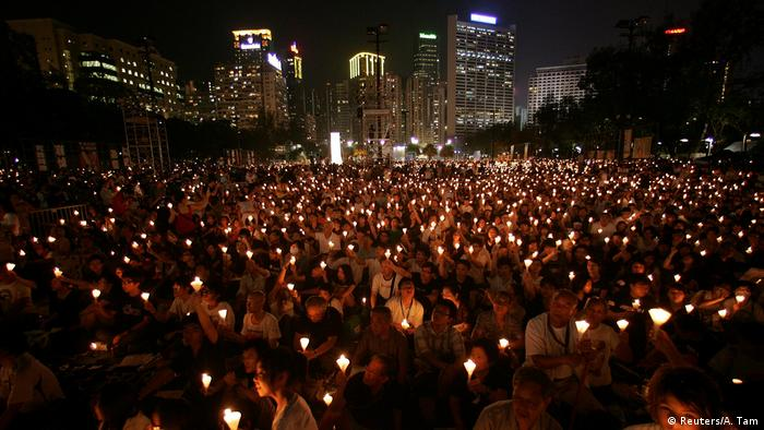 On the 20th anniversary of the brutal crackdown by the Chinese government in Tiananmen Square.