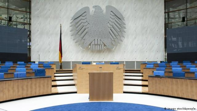 Ehemaliger Plenarsaal im Bundeshaus, Bonn (imago stock&people)