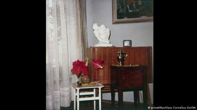 Historic photo of Gurlitt's apartment (privat/NachlassCornelius Gurlitt)