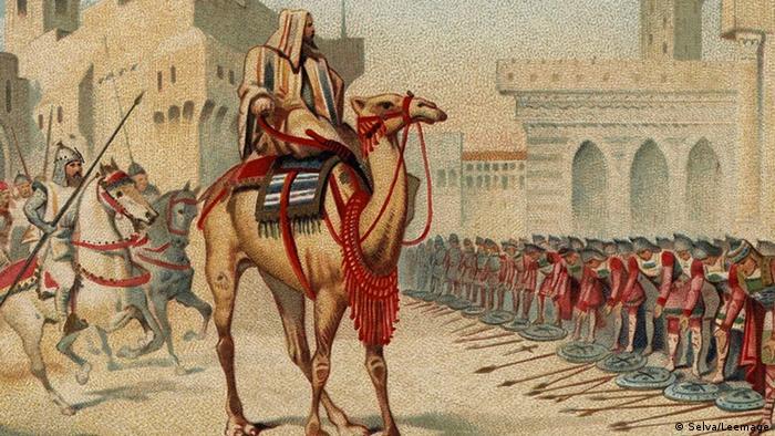 Ο ισλαμικός στρατός στο δρόμο προς την κατάκτηση της μεγάλης Συρίας κατακτά και την Παλαιστίνη. Κατόπιν εντολής του χαλίφη Ομάρ κατακτάται η Ιερουσαλήμ το 637 μ.Χ. Στη διάρκεια της οθωμανικής αυτοκρατορίας ξεσπούν διαμάχες μεταξύ διαφόρων κατακτητών.
