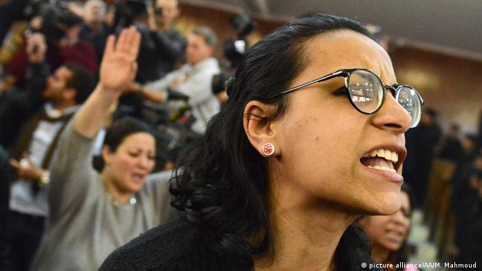 Human rights activist Mahienour El-Masry is also among those released