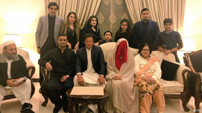 Imran Khan's marriage to Bushra Manika (PIT)