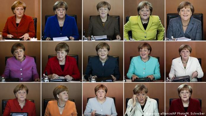 Image combo Angela Merkel