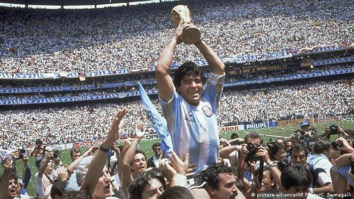 Diego Maradona Soccer World Cup 1986