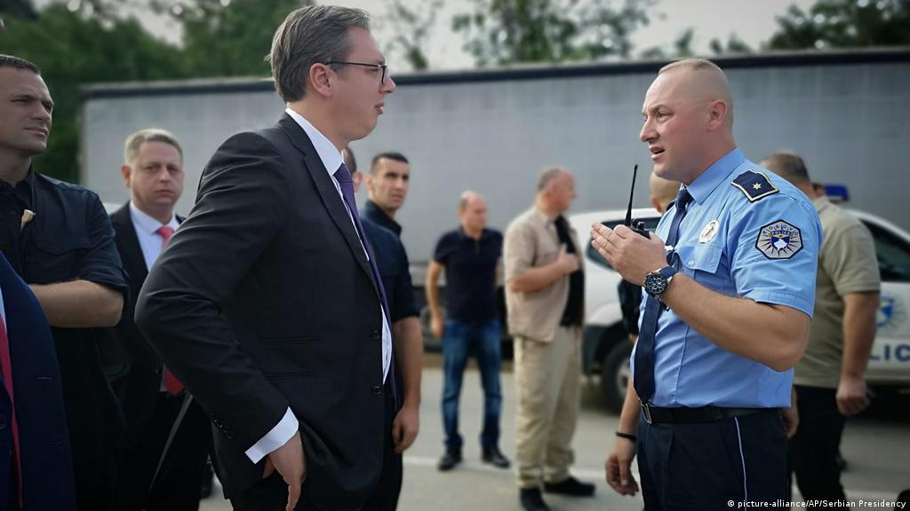 Vučić na Kosovu: Nismo ni blizu dogovora | Politika | DW | 09.09.2018