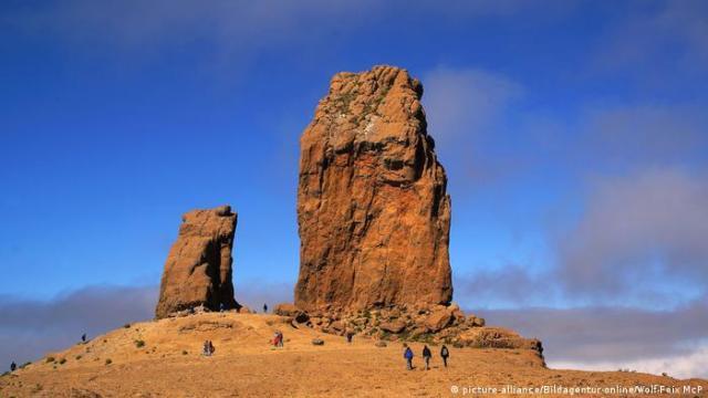 Rocks on Gran Canaria (picture-alliance/Bildagentur-online/Wolf-Feix McP)