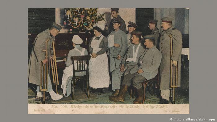 Рождественская почтовая открытка, 1916 год