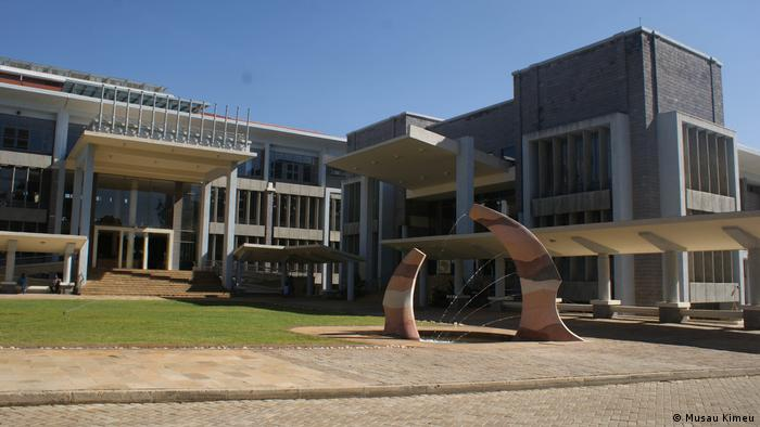 Learning Resource Centre of the Catholic University of Eastern Africa in Kenya