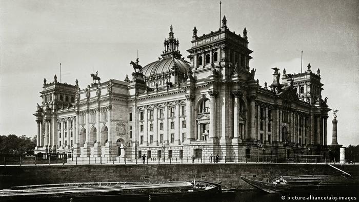 Reichstag (around 1900 ) (picture-alliance/akg-images)