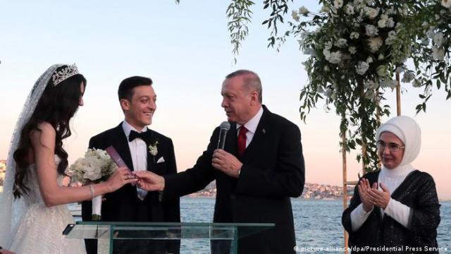 Türkei Mesut Özil heiratet in Istanbul