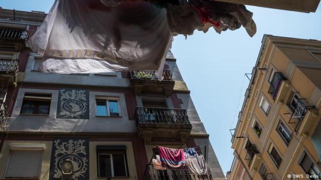 The Barcelona neighborhood of Poble-Sec