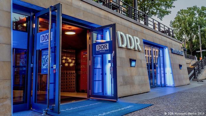 Entrance to DDR Museum, Berlin 2019 (DDR Museum, Berlin 2019)