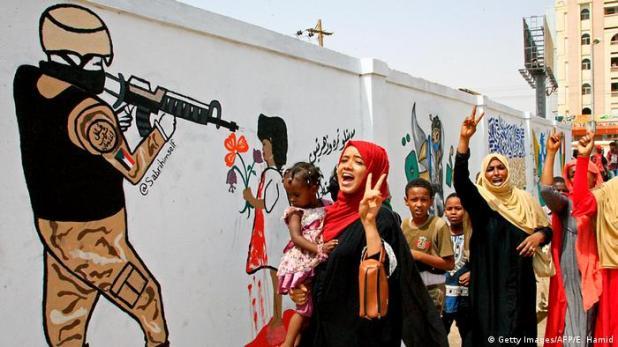Sudan: Proteste in Khartoum (Getty Images/AFP/E. Hamid)