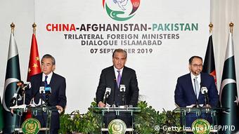 Pakistan   trilaterale Gespräche der Außenminister von China, Afghanistan und Pakistan