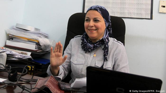 Activist Esraa Abdel Fattah was released after 22 months in pretrial detention without trial دون
