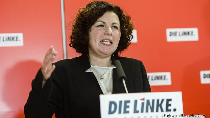 Candidate for the Bundestag for the Left Party Amira Muhammad Ali
