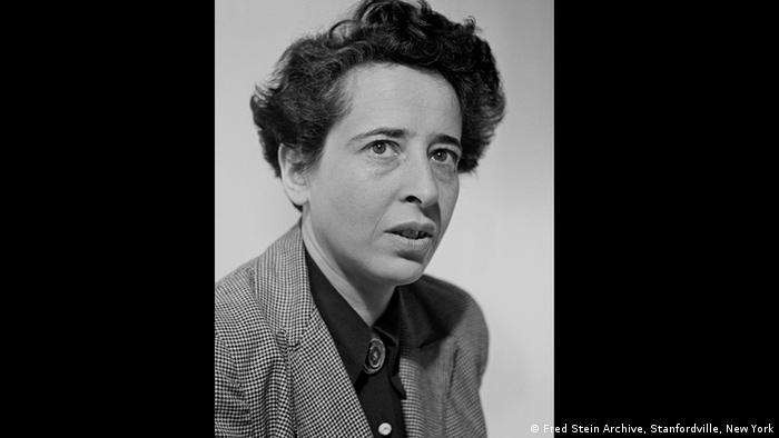Hannah Arendt as photographed by Fred Stein (Fred Stein Archive, Stanfordville, New York)