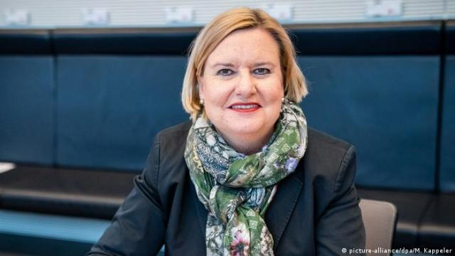 Pełnomocniczka Bundestagu ds. obronności Eva Högl uważa, że żołnierze KSK powinni być bardziej brani pod lupę (picture-alliance/dpa/M. Kappeler)