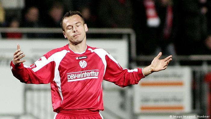 Mainz defender Nikolce Noveski (Imago Images/J. Huebner)