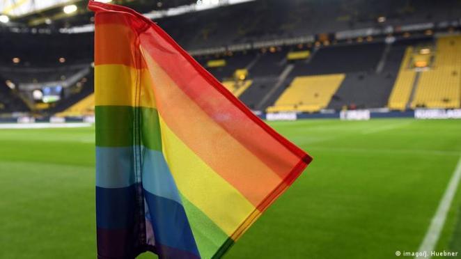 Symbolbilder Homophobie im Sport