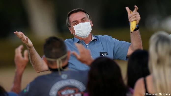 Brasilien Jair Bolsonaro (Reuters / A. Machado)