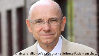 Όιγκεν Μπριτς, Γερμανικό Ίδρυμα Προστασίας Ασθενών