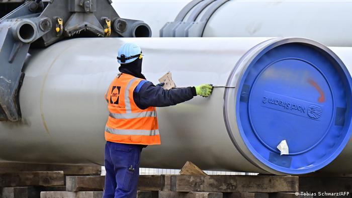 Будівництво газогону Північний потік-2