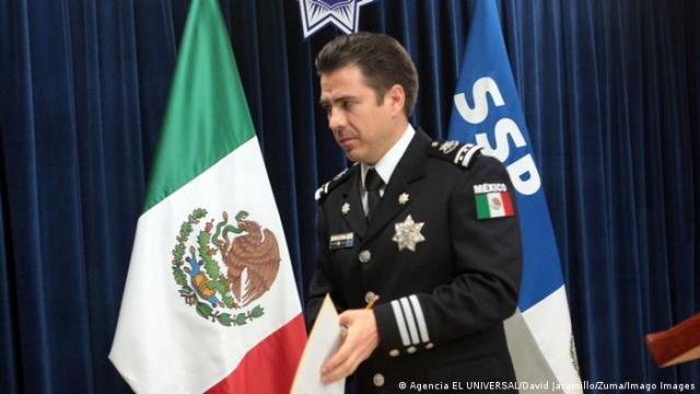 Luis Cárdenas Palomino, ex funcionario de la Policía Federal en México
