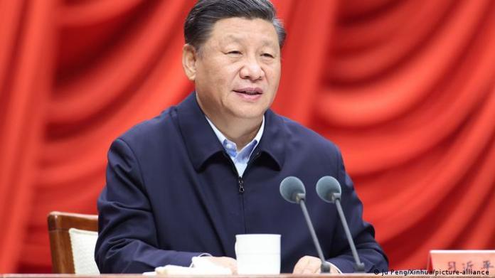 China President Xi Jinping (Ju Peng/Xinhua/picture-alliance )