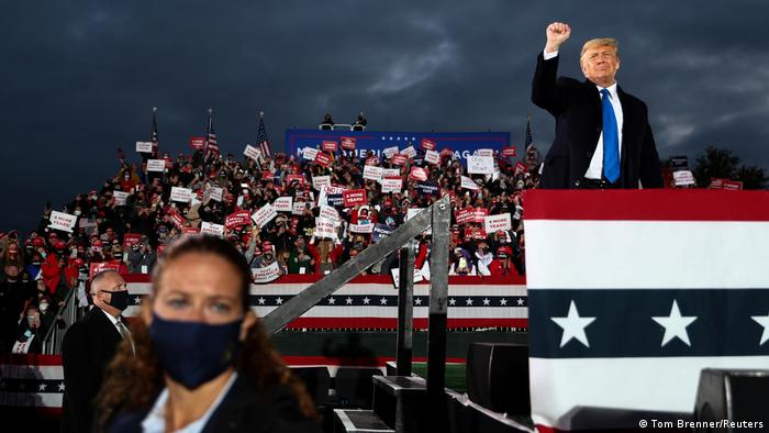 Wahlkampf I USA I Donald Trump in Circleville - Ohio (Tom Brenner/Reuters)