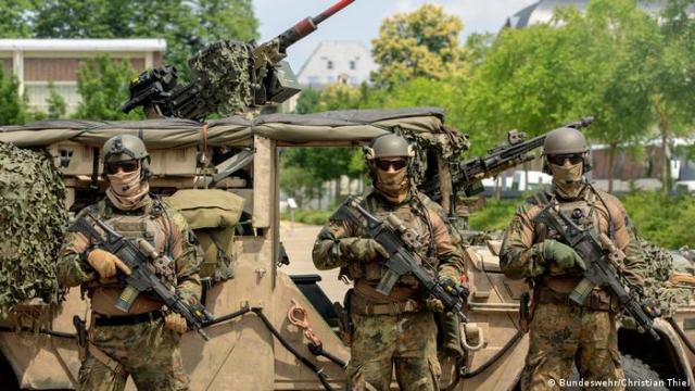 Soldaten des Kommandos Spezialkräfte (KSK) (Bundeswehr/Christian Thiel)