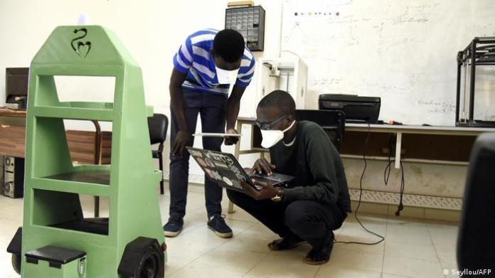 Senegal Dakar Ecole Superieur de Polytechnique (ESP) (Seyllou / AFP)