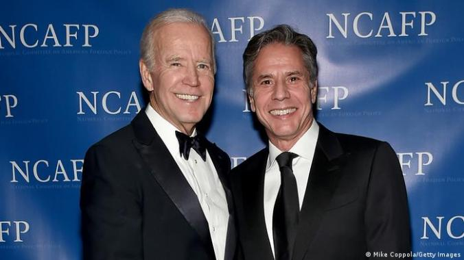 Joe Biden to nominate Antony Blinken as secretary of state | News | DW |  23.11.2020