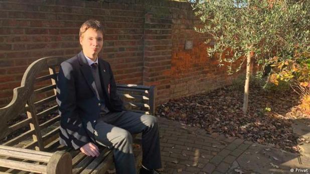 Din Ammar Tolj   Gewinner Mathematik-Wettbewerb in England