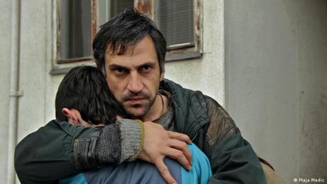 Goran Bogdan plays an emotionally overloaded father fighting for his children
