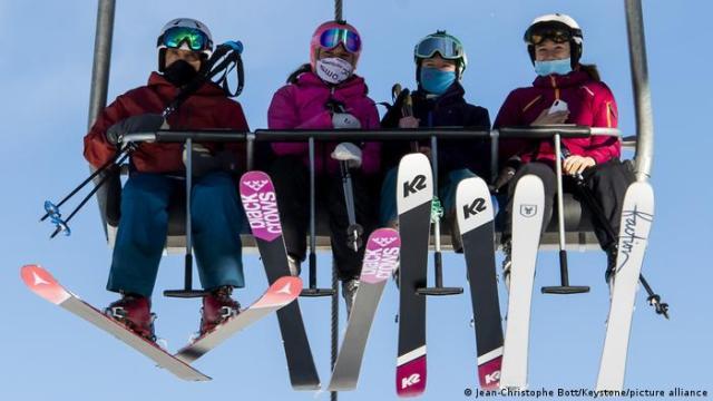 Szwajcaria: czynne wyciągi narciarskie