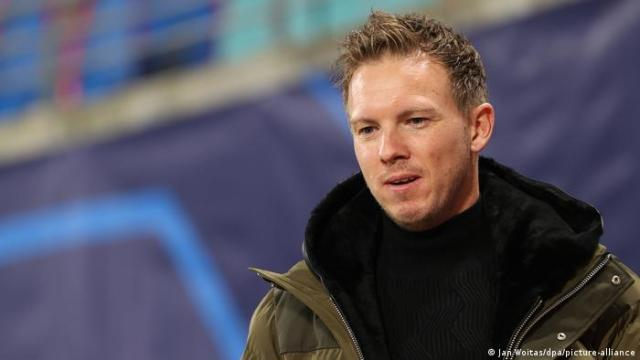 Julian Nagelsmann in a coat