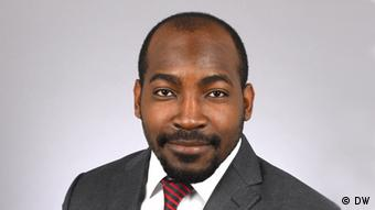 Photograph of journalist Harrison Mwilima