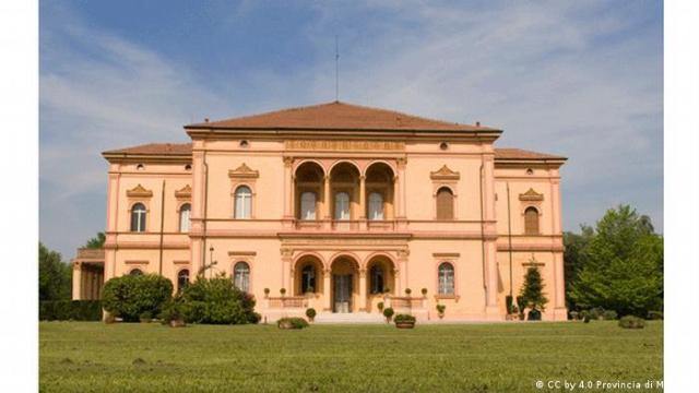 The Villa Emma in Nonantola, Italy