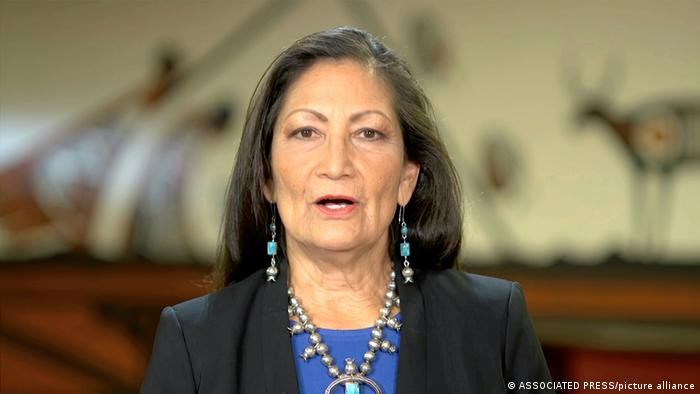 Deb Haaland, Minister of the Interior of the United States.