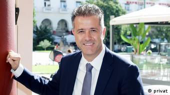 Ο πρόεδρος της Πανελλήνιας Ομοσπονδίας Ξενοδόχων Γρηγόρης Τάσιος